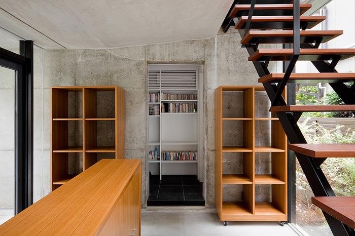 Escalier Maison design a Tokyo