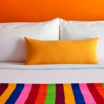 Hotel design et colore a Palm Springs