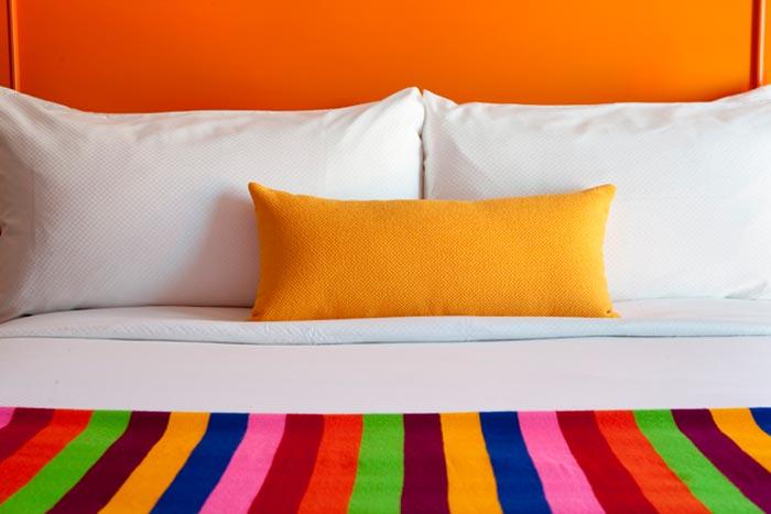 Hotel design et colore a Palm Springs