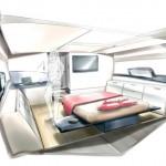 Interieur Yacht de luxe
