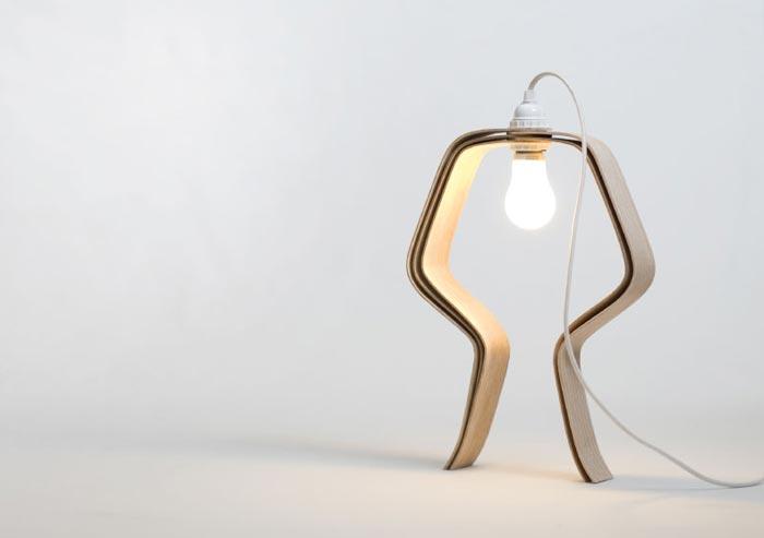 Lampe Looden par Elomax Agency