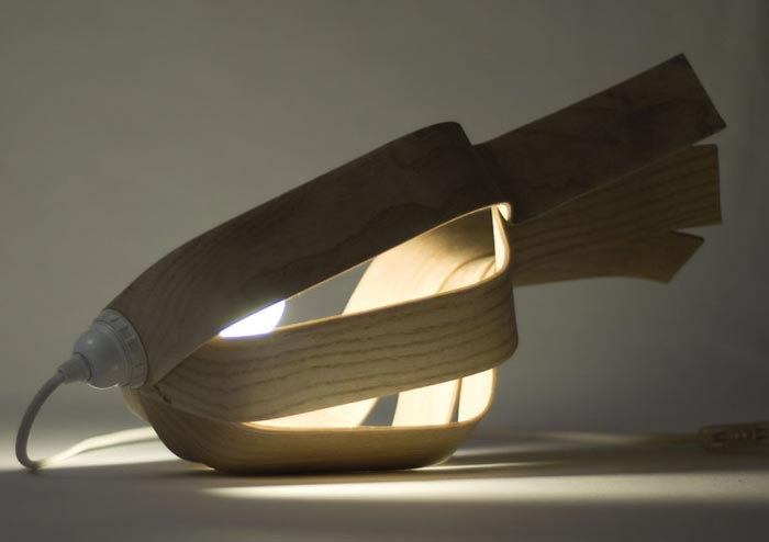 Lampe design Looden par Elomax Agency
