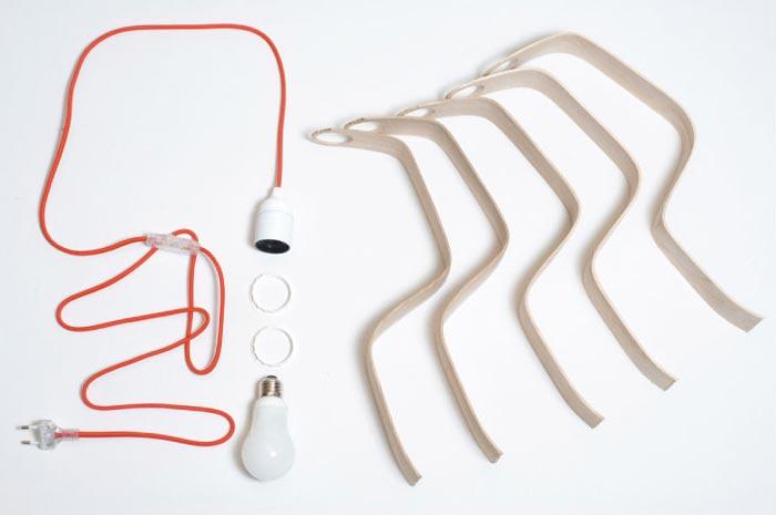 Lampe design Looden