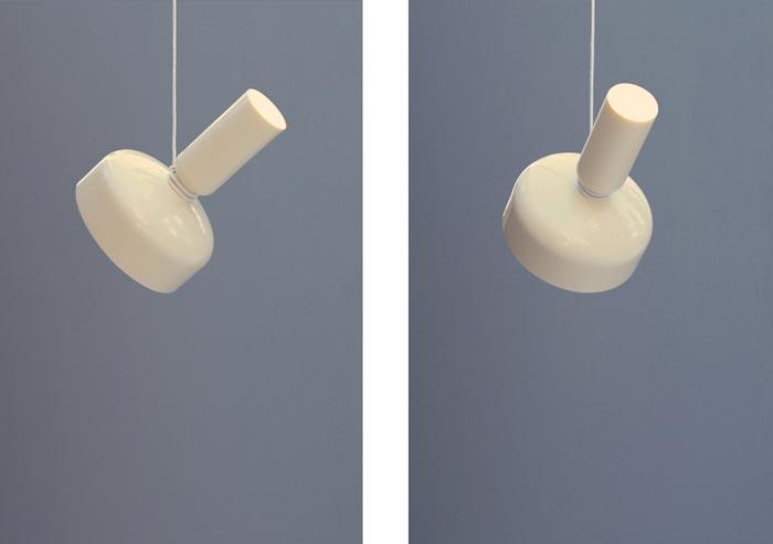 Lampe design Spotlight Volumes par Lukas Peet