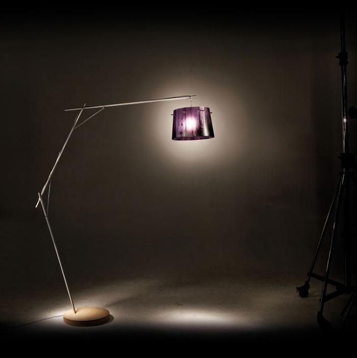 Lampe design Woody