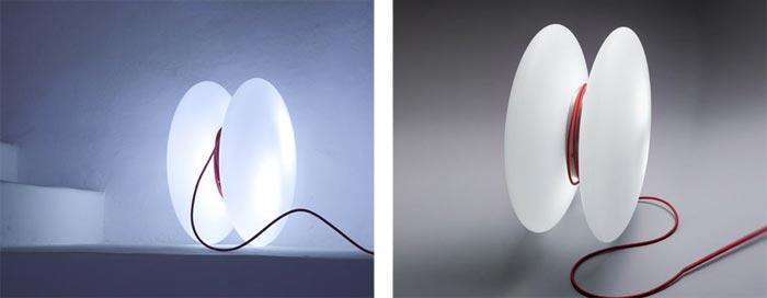 Lampe design Yoyo