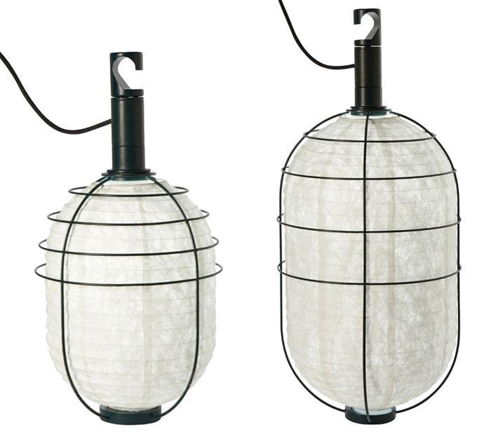 Luminaire design pour Forestier