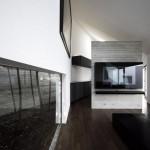 Maison design avec cour interieure