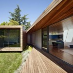 Maison design californienne-baie vitree