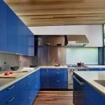 Maison design californienne-cuisine