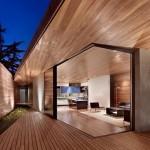 Maison design californienne-terrasse