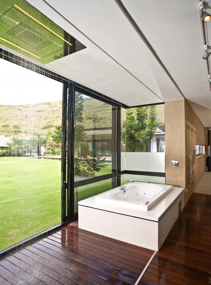 Maison design en Afrique du Sud-Salle de bain