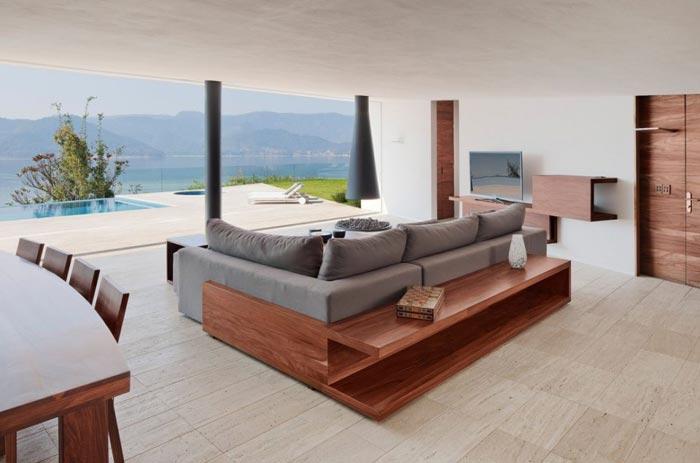 Maison design mexicaine-salon