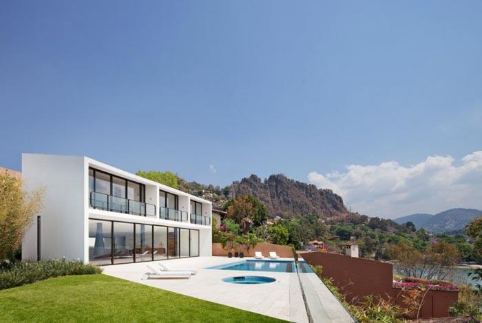Maison design mexicaine