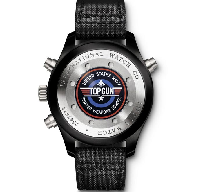 Montre design IWC 2012 Top Gun Miramar