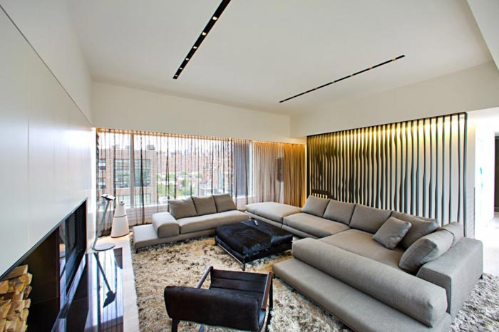 New York rooftop appartment by Innocad