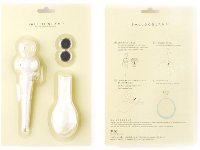 Packaging lampe Balloon