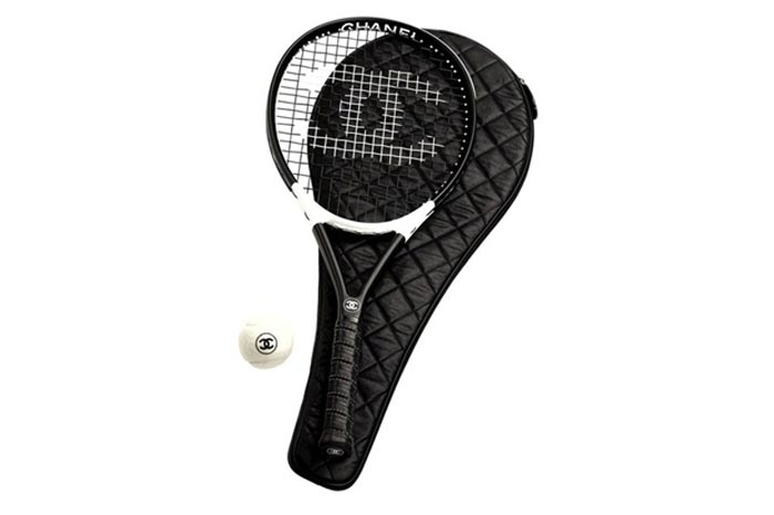 Raquette de tennis Chanel