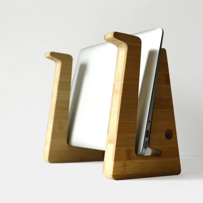 Support pour ordinateur portable Green Tuna Design