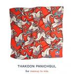 Vote for Obama-Foulard Thakoon