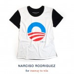 Vote for Obama-Tee shirt Narciso Rodriguez