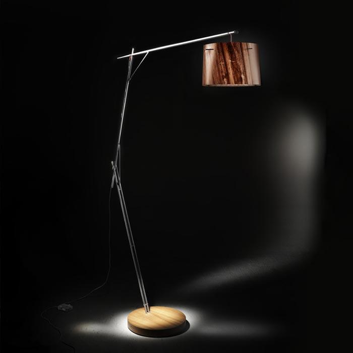 Woody Lamp