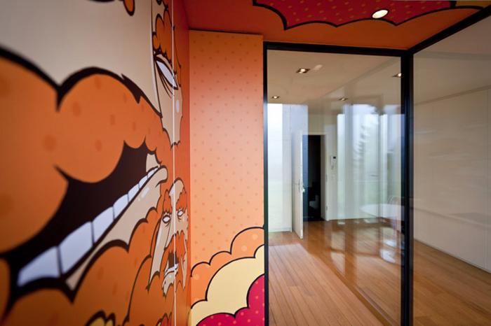 Appartement design Luxembourg par Metaform