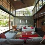 Brick Kiln House par SPASM Design Architects