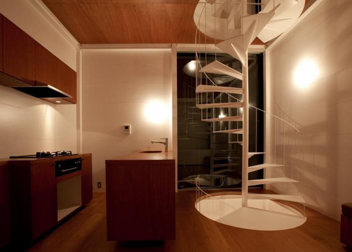 Cuisine dans petite maison design