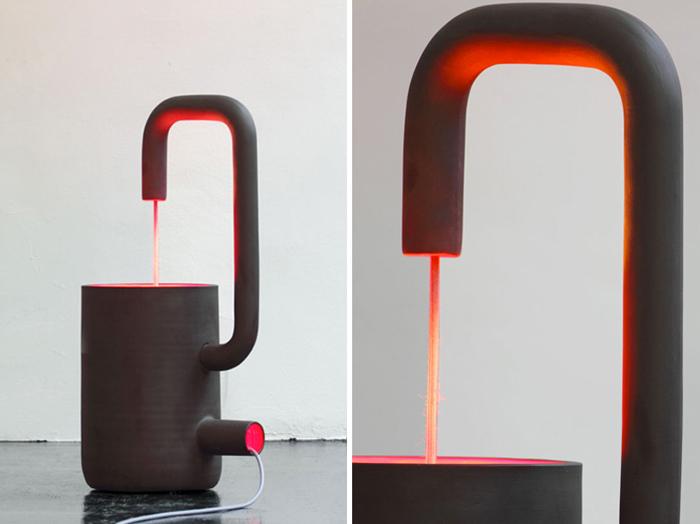 Lampe design Fontana par Arik Levy