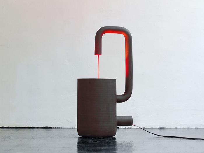 Lampe design Fontana