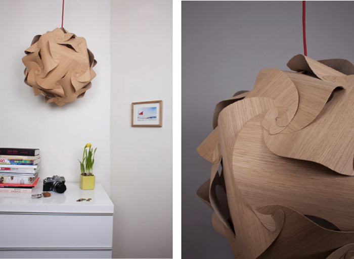 Lampe design Naos par Alexis Facca