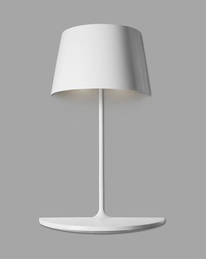 Lampe design blanche