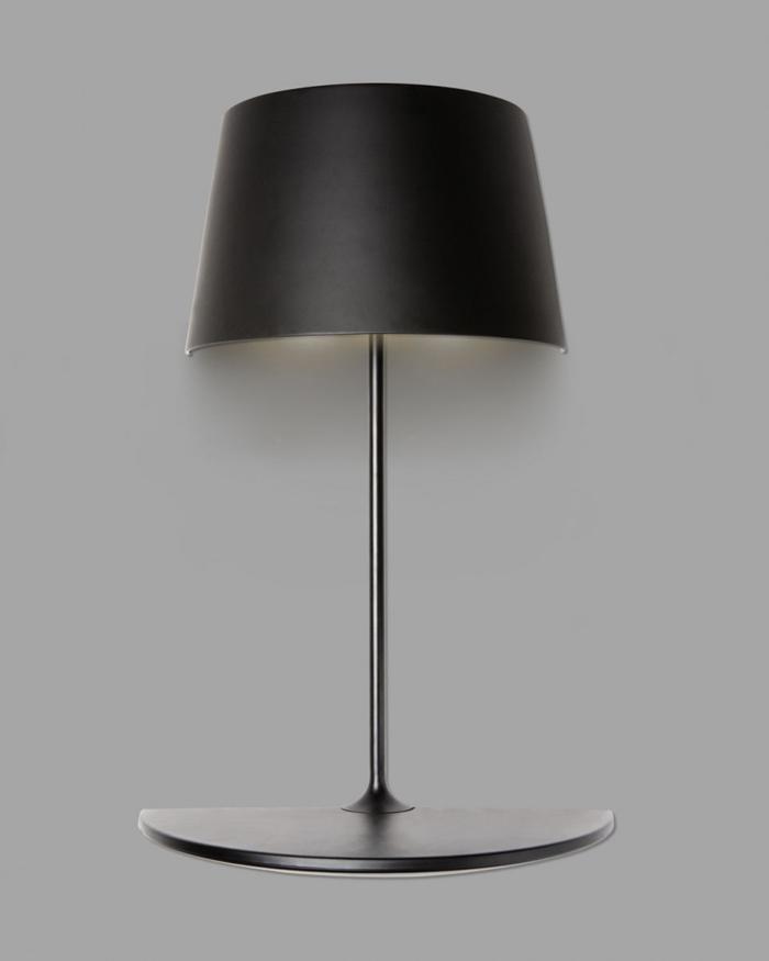 Lampe design noire