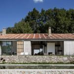 Maison de campagne design-Terrasse