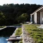 Maison de campagne design-couloir de nage