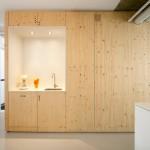 Maison design-Bloc de rangement en bois clair