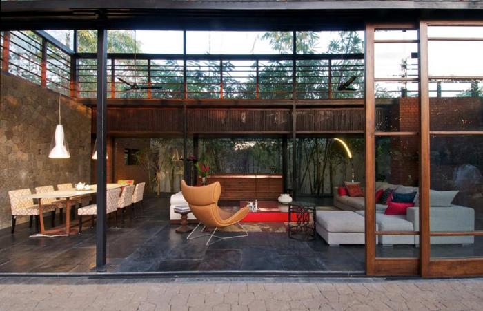 Maison design en Inde