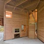 Maison design en bois-Piece a vivre