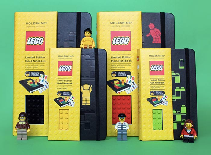 Moleskine x Lego
