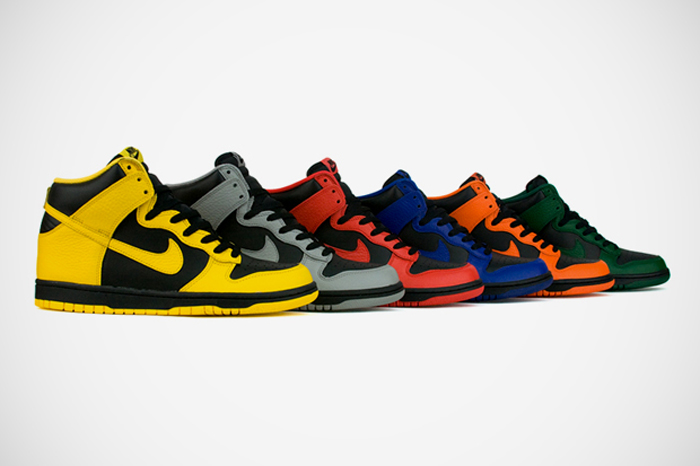 Pack Nike Dunk Spring March Madness 2012