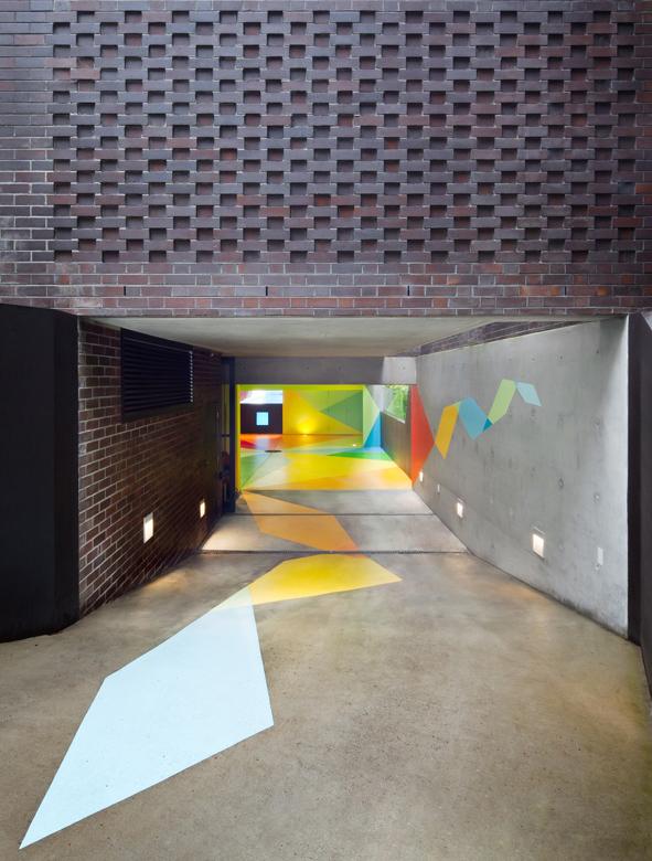 Parking souterrain design