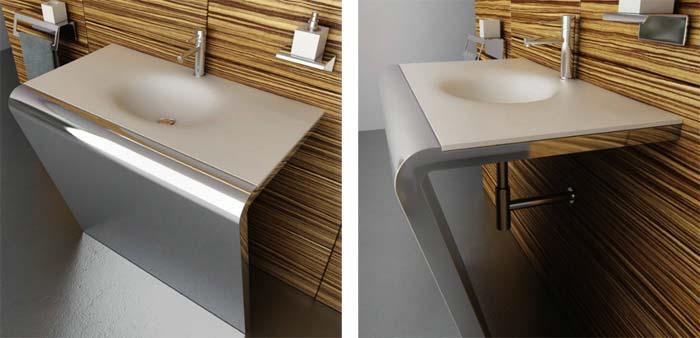 Salle de bain design componendo arkko for Lavabo design salle de bain