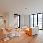 Salon Appartement design Luxembourg