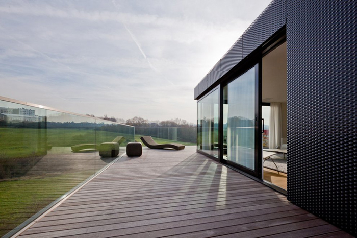 Terrasse Appartement design Luxembourg