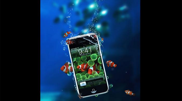 Un iPhone 5 étanche?