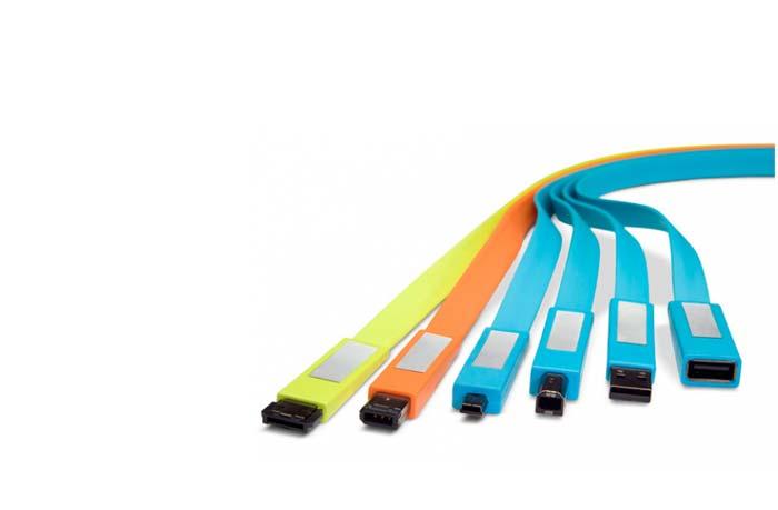Cables USB design LaCie