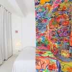 Hotel design graffitis
