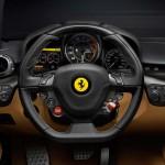 Interieur de la Ferrari F12 Berlinetta