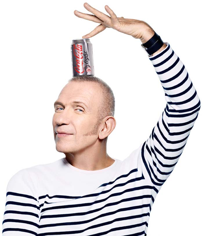 Jean Paul Gaultier pour Coca Cola Light